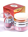 1Pcs 3D Pure Mineral Face Cheek Soft Natural Blush Blusher Powder Cosmetic With Sponge