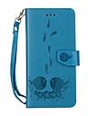 Para huawei p10 lite caixa de telefone p10 caso de papelao em relevo em relevo padrao removivel combo pu couro material caixa de telefone