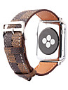 Watch Band for Apple Watch 3 Series 1 2 38mm 42mm Genuine Leather Replacement Strap Bracelet