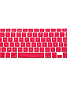 Silicone Protege Clavier Pour 13.3 \'\' 15.4 \'\'MacBook Pro 15 pouces avec affichage Retina MacBook 12\'\' MacBook Air 11\'\' MacBook Air 13\'\'