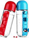 Copos Copos / Copos Inovadores / Xicaras de Cha Plastico Portatil / para esportes e outdoor / Viagem Ocasiao Especial / Desportos e Ar livre / Roupa de Escola