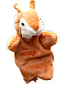 Finger Puppets Puppets Toys Squirrel Cute Animals Lovely Plush Fabric Plush Kid Pieces