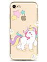 제품 iPhone X iPhone 8 케이스 커버 투명 패턴 뒷면 커버 케이스 유니콘 카툰 소프트 TPU 용 Apple iPhone X iPhone 8 Plus iPhone 8 아이폰 7 플러스 아이폰 (7) iPhone 6s Plus