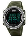 SKMEI Муж. Спортивные часы Армейские часы Модные часы Наручные часы электронные часы Японский Цифровой LED Календарь Секундомер Защита от