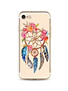 Case For Apple iPhone X iPhone 8 Plus Transparent Pattern Back Cover Dream Catcher Soft TPU for iPhone X iPhone 8 Plus iPhone 8 iPhone 7