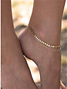 Barefoot Sandals - Women\'s Gold Fashion Anklet For Dailywear / Daily / Casual