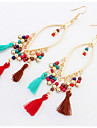 Women\'s Drop Earrings Basic Unique Design Dangling Style Tassel Friendship Statement Jewelry Africa Durable USA Fashion British Vintage