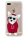 For iPhone 7Plus 7 Phone Case TPU Material Puppy Pattern Painted Phone Case 6s Plus 6Plus 6S 6 SE 5s 5