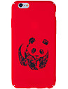 For iPhone 7 Plus 7 Case Cover Pattern Back Cover Case Panda Hard PC for iPhone 6s Plus 6 Plus 6s 6
