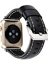 Bracelet de Montre  pour Apple Watch Series 3 / 2 / 1 Apple Sangle de Poignet Boucle Classique Vrai Cuir