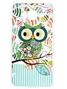 For Samsung Galaxy J3 Prime  J5 Prime Case Cartoon green owl TPU Protection Back Cover Box J2 Prime J7 Prime