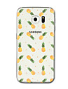 Case For Samsung Galaxy S8 Plus S8 Transparent Pattern Back Cover Fruit Soft TPU for S8 Plus S8 S7 edge S7 S6 edge plus S6 edge S6