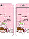 Protetor de Tela para Apple iPhone 7 Vidro Temperado Protetor Frontal e Traseiro Dureza 9H Borda Arredondada 2.5D A prova de explosao