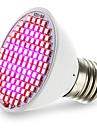 4.5W 2500-3000lm E27 Lampada crescente 106 Contas LED SMD 2835 Azul Vermelho 85-265V