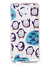 For Asus Zenfone 3 Max ZC520TL Case Cover Cartoon Penguin Pattern Back Cover Soft TPU