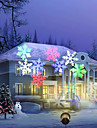 YouOKLight 12W RGBW Holiday Decoration Waterproof Snowflake Projector Lamp US/EU Plug AC100-240V 1PCS