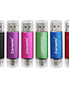 caraele 128gb otg double-bouchons usb flash drive u-disk usb memory disk pour Android smart phone samsung / pc
