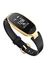 S3 Damen Smart-Armband Android iOS Bluetooth Sport Wasserfest Herzschlagmonitor Verbrannte Kalorien UEbungs Tabelle Schrittzaehler Anruferinnerung Schlaf-Tracker Sedentary Erinnerung Finden Sie Ihr
