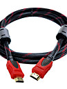 HDMI 1.4 Connect Cable, HDMI 1.4 to HDMI 1.4 Connect Cable Male - Male Gold-plated copper 1.5m(5Ft)