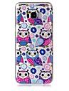 Coque Pour Samsung Galaxy S8 Plus S8 Transparente Motif Coque Chouette Flexible TPU pour S8 Plus S8 S7 edge S7