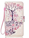 Case For Apple iPhone 7 Plus 7 Case Cover Card Holder Wallet with Stand Flip Pattern Full Body Case 3D Tree Hard PU Leather iPhone 6s 6plus 5s se