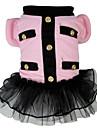 Chien Costume Vetements pour Chien Cosplay Princesse Gris Rose Costume Pour les animaux domestiques