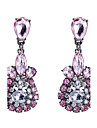 Women\'s Drop Earrings Crystal Cubic Zirconia Basic Gothic Luxury Simple Style Classic Fashion Vintage Bohemian Punk Adjustable