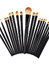 20pcs Professional Makeup Brushes Makeup Brush Set / Foundation Brush / Powder Brush Nylon Cute / Full Coverage Beech Wood / Aluminium