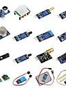 diy 16 in 1 sensor module kit voor frambozenpi