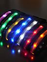 Ошейники Отражение LED подсветка Строб Однотонный Нейлон
