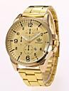 Men\'s Dress Watch Fashion Watch Wrist watch Chinese Quartz Imitation Diamond Alloy Band Elegant Casual Gold