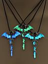 Муж. Жен. Ожерелья-цепочки Бижутерия Крестообразной формы Серебрянное покрытие Крест Готика Бижутерия Назначение Для вечеринок Halloween