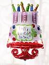 stor stoerrelse folie ballonger gratulerer med foedselsdagsfest dekorasjoner bursdagsfest ballonger