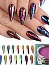 8 Poudre de paillettes Poudre Elegant & Luxueux Nail Glitter Brille & Scintille Nail Art Design