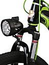 LED 조명 자전거 라이트 안전 등 자전거 전조등 조명 LED LED 싸이클링 휴대용 조절가능 퀵 릴리즈 고품질 리튬 배터리 루멘 USB 화이트 일상용 사이클링 낚시 - WEST BIKING®