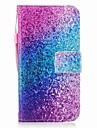 Coque Pour Samsung Galaxy J7 (2017) J3 (2017) Portefeuille Porte Carte Clapet Motif Magnetique Coque Integrale Brillant Degrade de Couleur
