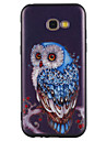 For Case Cover Pattern Back Cover Case Owl Soft TPU for Samsung Galaxy A3(2017) A5(2017) A5(2016) A3(2016)