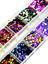 1set Sequins / Nail Glitter Elegant & Luxurious / Sparkle & Shine / Sequins Nail Art Design