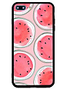 제품 iPhone 7 iPhone 7 Plus 케이스 커버 충격방지 패턴 뒷면 커버 케이스 과일 하드 아크릴 용 Apple 아이폰 7 플러스 아이폰 (7) iPhone 6s Plus iPhone 6 Plus iPhone 6s 아이폰 6