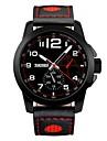 skmei 패션 브랜드 남자 시계 캐주얼 쿼츠 시계 정품 가죽 스트랩 비즈니스 손목 시계 스포츠 50m 방수 시계 9111