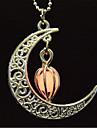 Women\'s Others Moon Fashion Fluorescent Luminous Illuminated Pendant Necklace Multi-stone Luminous Stone Pendant Necklace , Halloween Club