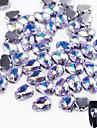10 Paillettes Accessoires Cristal Bijoux a ongles Produits DIY 3D Glitters Cristal Luxe Geometrique Orne Accessoires Luxueux Brillant &
