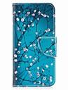 케이스 제품 V30 Q6 카드 홀더 지갑 스탠드 플립 마그네틱 패턴 전체 바디 케이스 꽃장식 하드 PU 가죽 용 LG V30 LG Q6