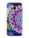 Case For Samsung Galaxy S8 Plus S8 Glow in the Dark IMD Pattern Back Cover Mandala Soft TPU for S8 Plus S8 S7 edge S7 S6 edge S6