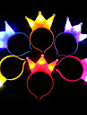 1pc Stars Princess Wreaths Bandanas & Hats Holiday, Holiday Decorations Holiday Ornaments
