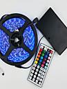 traje de tira de luz 12 v con bateria 5 m 5050 300 lampara de control remoto con llave a prueba de agua rgb 44