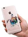 Coque Pour Apple iPhone X / iPhone 8 / iPhone 8 Plus Ultrafine / Transparente / Motif Coque Animal Flexible TPU pour iPhone 8 Plus / iPhone 8 / iPhone SE / 5s