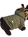 Dog Coat Dog Clothes Casual/Daily Leopard Green Costume For Pets