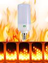 ywxlight® 1pcs e26 e14 b22 led flicker efeito de chama levou fogo lampada incendio acesa 85-265v