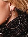 Women\'s Drop Earrings Front Back Earrings Cubic Zirconia Metallic Oversized Copper Infinity Jewelry For Party Daily